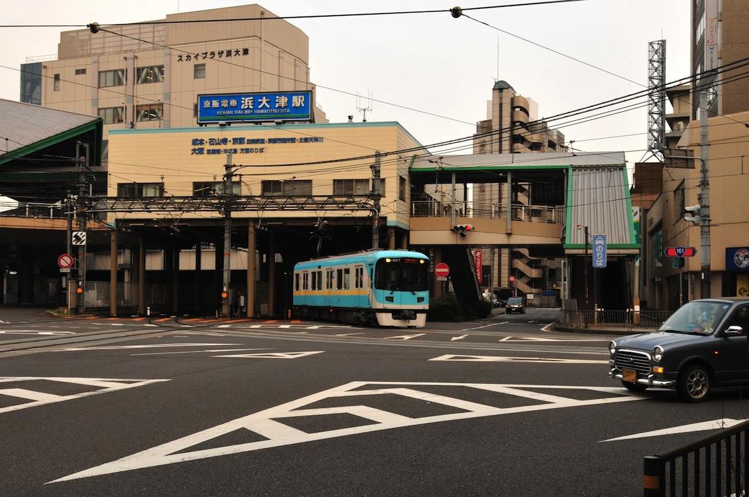 京阪大津線 浜大津駅